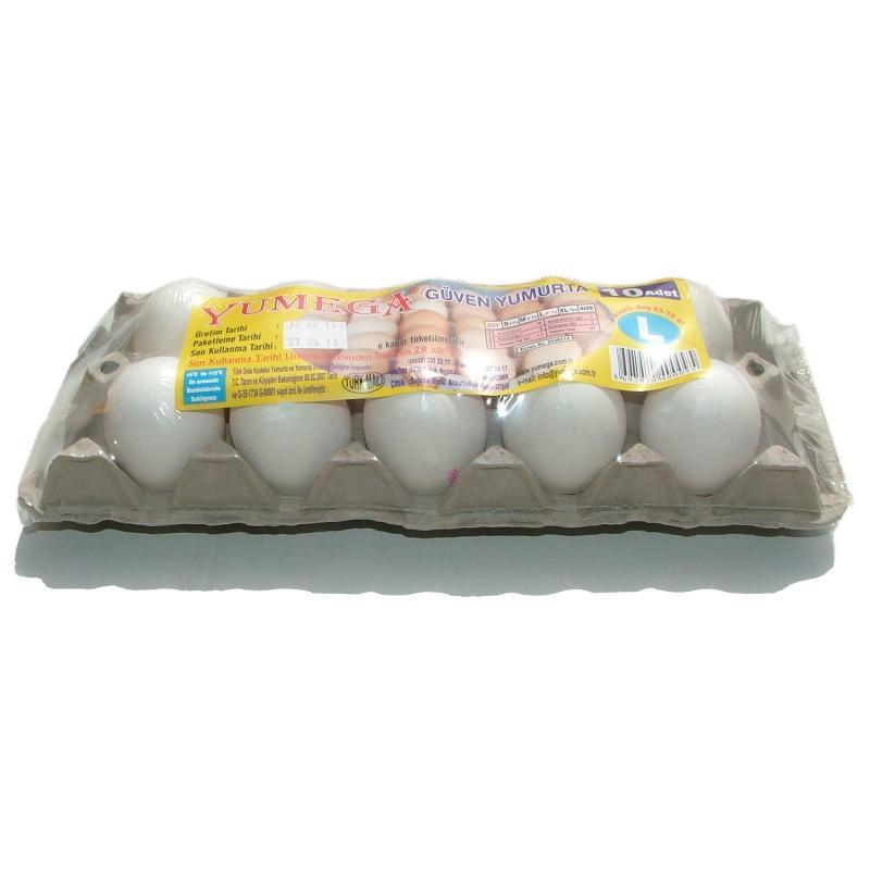 10'lu Açık Paket Yumurta